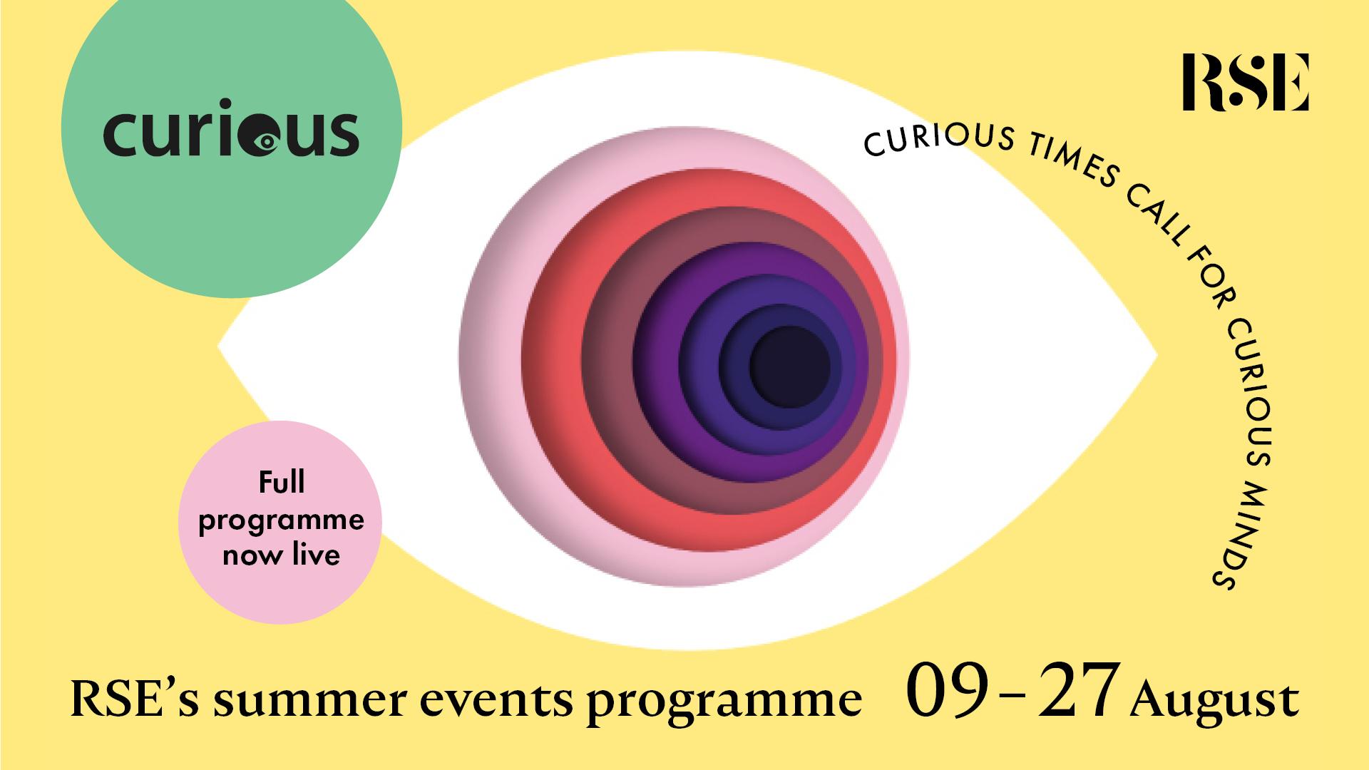 Curious Summer Events Programme logo