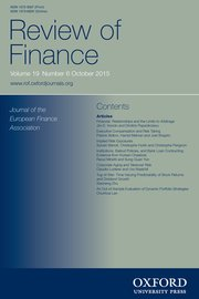 the review of finance
