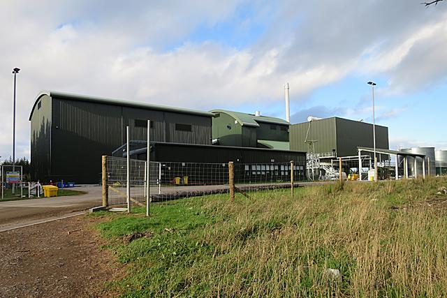 Craigellachie Biomass Plant, Moray